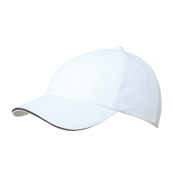 MB6112 6 Panel Raver Sandwich Cap