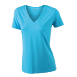 JN928 Ladies' Stretch V-T