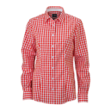 JN616 Ladie's Checked Shirt