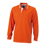 JN968 Men's Polo Long-Sleeved