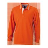 JN968 Men's Polo Long-Sleeved