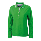 JN967 Ladies' Polo Long-Sleeved