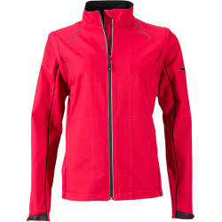 JN1121 Ladies' Zip-Off Softshell Jacket