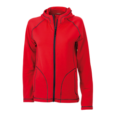 JN586 Ladies  Stretchfleece Jacket