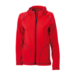 JN586 Ladies' Stretchfleece Jacket