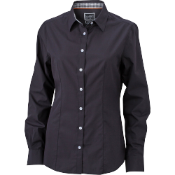 JN618 Ladies  Plain Shirt