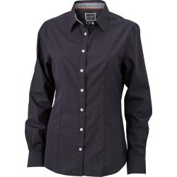 JN618 Ladies  Plain Shirt
