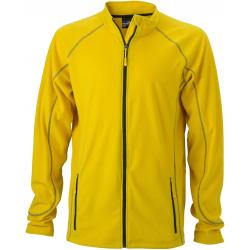 JN597 Men s Structure Fleece Jacket