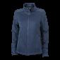 JN590 Ladies' Knitted Fleece Jacket
