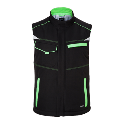 JN854 Workwear Softshell Padded Vest Level 2