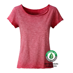 8015 Ladies' Slub-T