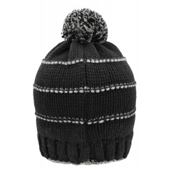 MB7144 Knitted Winter Beanie with Pompon