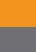 Orange / Medium Grey