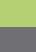Apple green / Medium grey