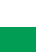 White / Bright Green