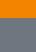 bright orange/carbon